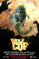 WOLFCOP, Canadian poster, 2014.