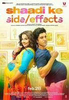 SHAADI KE SIDE EFFECTS, poster, from left: Vidya Balan, Farhan Akhtar, 2014.