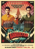 BANGISTAN, poster, from left: Riteish Deshmukh, Pulkit Samrat, 2015. ©A A Films