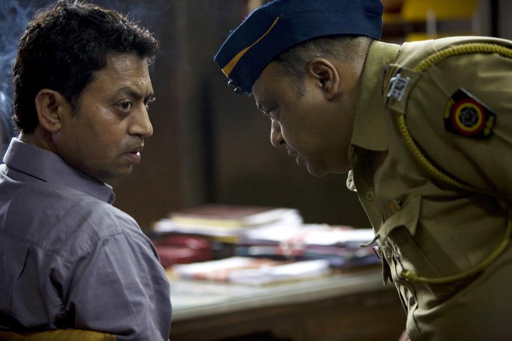 Irrfan Khan Slumdog Millionaire SLUMDOG MILLIONAIRE  Irrfan