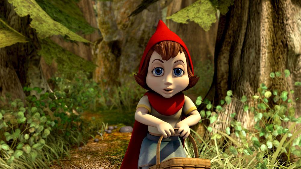 Hoodwinked Red HOODWINKED  Anne Hathaway as