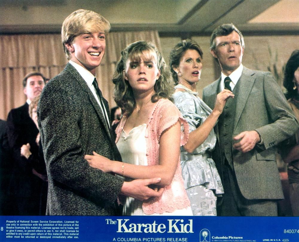 Elisabeth Shue interview karate kid