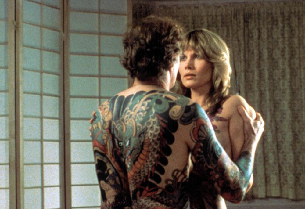 Tattoo Bruce Dern Maud Adams 1981 Tm Copyright C