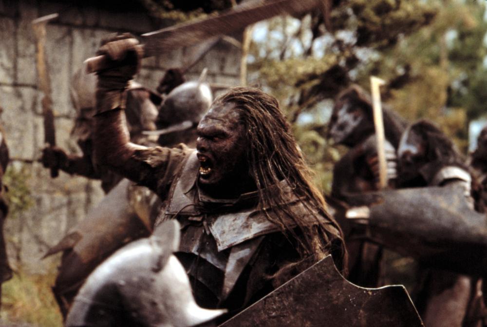 Uruk Hai Lotr THE RING  Uruk-Hai battle