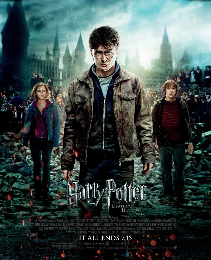 Daniel Radcliffe Harry Potter And The Deathly Hallows Part 2 HARRY POTTER AND THE DEATHLY