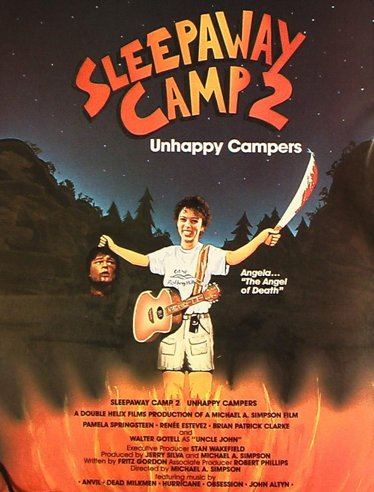 Sleepaway camp 2 1988 VOSE MG