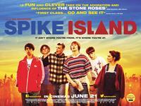 SPIKE ISLAND, British poster art, from left: Nico Mirallegro, Oliver Heald, Jordan Murphy, Elliott Tittensor, Adam Long, Emilia Clarke, 2012. ©Universal Pictures