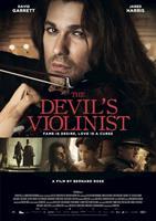 THE DEVIL'S VIOLINIST, poster art, David Garrett, as Nicolo Paganini (top, left of center, bottom left), Andrea Deck (right of center), Jared Harris (right), 2013. ©Universum Film