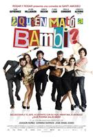 QUIEN MATO A BAMBI?, (aka WHO KILLED BAMBI?), Spanish poster art, from left: Julian Villagran, Ursula Corbero, Quim Gutierrez, Ernesto Alterio, Clara Lago, Enrico Vecchi, 2013.