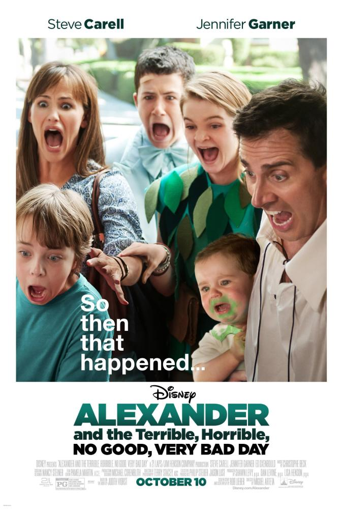 Cineplex.com | Alexander And The Terrible, Horrible, No Good, Very ...