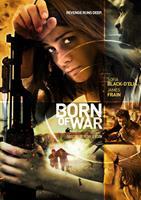BORN OF WAR, poster art, Sofia Black-D'Elia (top left), 2013.