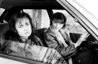 VAGABOND, Sandrine Bonnaire, Macha Meril, 1985. ©Grange.