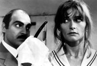 TRENCHCOAT, David Suchet, Margot Kidder, 1983, (c)Buena Vista Pictures