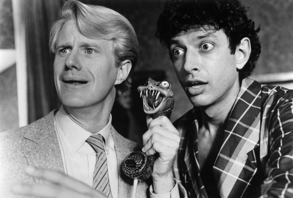 TRANSYLVANIA 6-5000, Ed Begley Jr., Jeff Goldblum, 1985, © New World Pictures