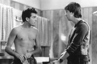 THREE FOR THE ROAD, Charlie Sheen, Alan Ruck, 1987, (c)New Century Vista Film Company
