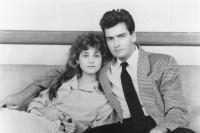 THREE FOR THE ROAD, Kerri Green, Charlie Sheen, 1987, (c)New Century Vista Films