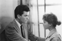 THREE FOR THE ROAD, Charlie Sheen, Kerri Green, 1987, (c)New Century Vista Films