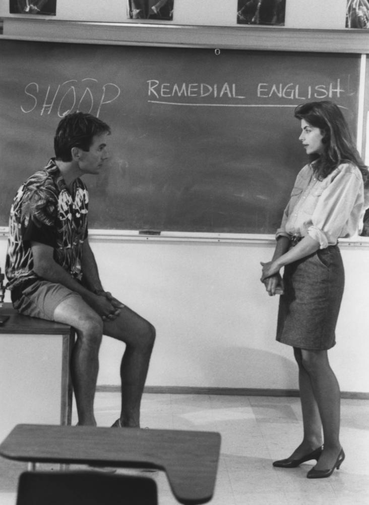 SUMMER SCHOOL, Mark Harmon, Kirstie Alley, 1987, (c)Paramount
