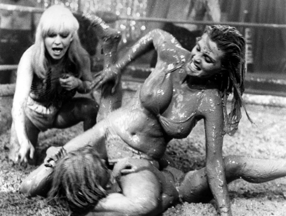 stripes naked mud wrestling