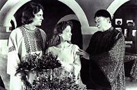 STEALING HEAVEN, Derek de Lint, Kim Thomson, (as Abelard & Heloise),  Denholm Elliott, (as her Uncle Fulbert), 1988.