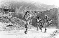 SOLARBABIES, Jason Patric, Claude Brooks, Lukas Haas, Jami Gertz, Peter DeLuise, 1986. ©MGM
