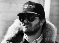 SILVERADO, writer, producer, director Lawrence Kasdan, on location, 1985, © Columbia Pictures