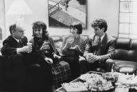 RUDE AWAKENING, Buck Henry, Andrea Martin, Cindy Williams, Robert Carradine, 1989, (c)Orion Pictures