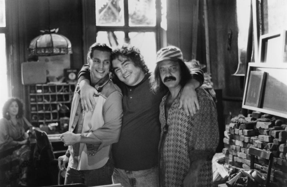 RUDE AWAKENING, Eric Roberts, producer and director Aaron Russo, Cheech Marin, 1989, ©Orion Pictures /