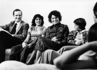 REAL LIFE, Charles Grodin, Lisa Urette, Frances Lee McCain, Robert Stirrat, 1979, (c) Paramount Pictures