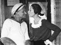 POPEYE, Robin Williams, Shelley Duvall, 1980, (c) Paramount