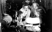 ON GOLDEN POND, Dabney Coleman, Jane Fonda,  Katharine Hepburn, Henry Fonda, Doug McKeon, 1981.