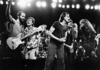 NO NUKES, John Hall, Graham Nash, James Taylor, Jackson Browne, Bonnie Raitt, Carly Simon, 1980, (c) Warner Brothers