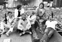 MONTY PYTHON LIVE AT THE HOLLYWOOD BOWL, Michael Palin, Terry Jones, Eric Idle, Graham Chapman, Terry Gilliam, John Cleese, 1982, (c) Columbia