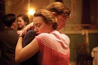 BROOKLYN, from left: Saoirse Ronan, Domhnall Gleeson, 2015. ph: Kerry Brown