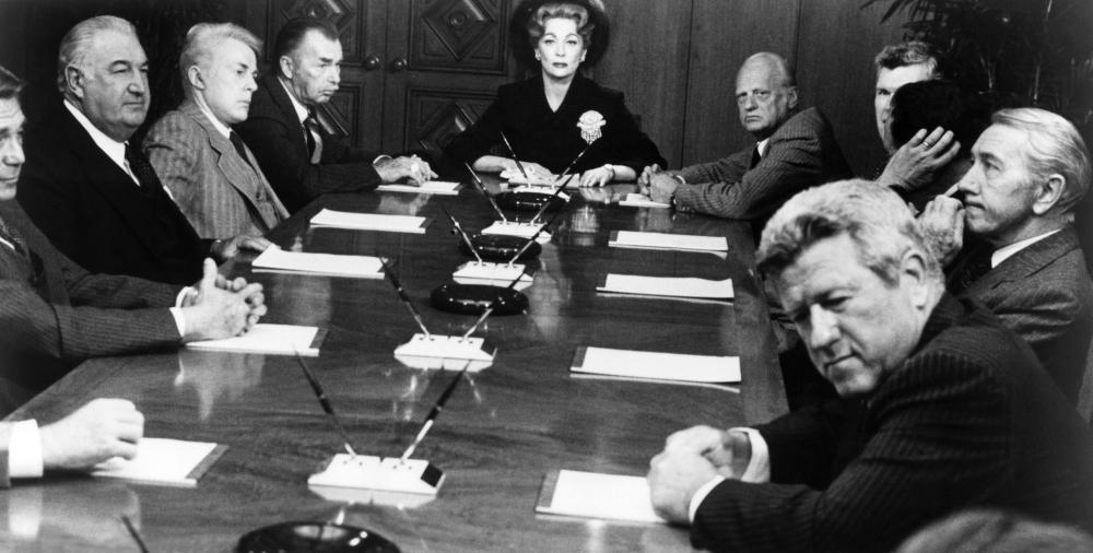 MOMMIE DEAREST, Faye Dunaway (center), 1981, (c) Paramount