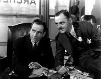 THE MALTESE FALCON, Humphrey Bogart, Jerome Cowan, 1941