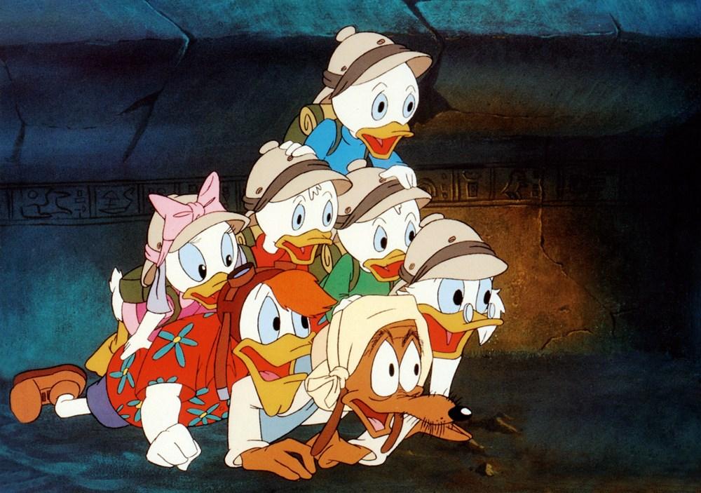 DUCKTALES: THE MOVIE TREASURE OF THE LOST LAMP, Huey Duck, Dewey Duck