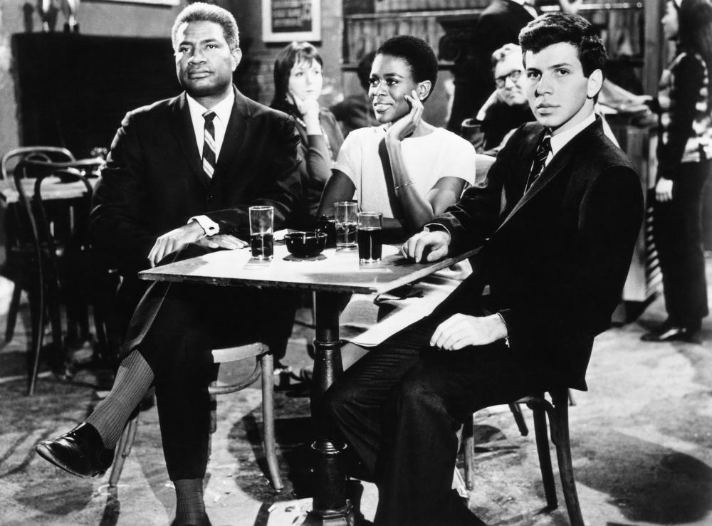 A MAN CALLED ADAM, Ossie Davis, Cicely Tyson, Frank Sinatra Jr., 1966