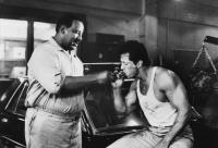 LOCK UP, Frank McRae, Sylvester Stallone, 1989, (c)TriStar Pictures