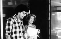 LOVE SONGS, director Elie Chouraqui, Catherine Deneuve on set, 1984, (c)International Spectrafilm