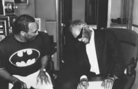 LISTEN UP: THE LIVES OF QUINCY JONES, Quincy Jones, Ray Charles, 1990, (c)Warner Bros.