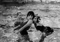 LES BONNES FEMMES, Bernadette Lafont, Clotilde Joano, 1960
