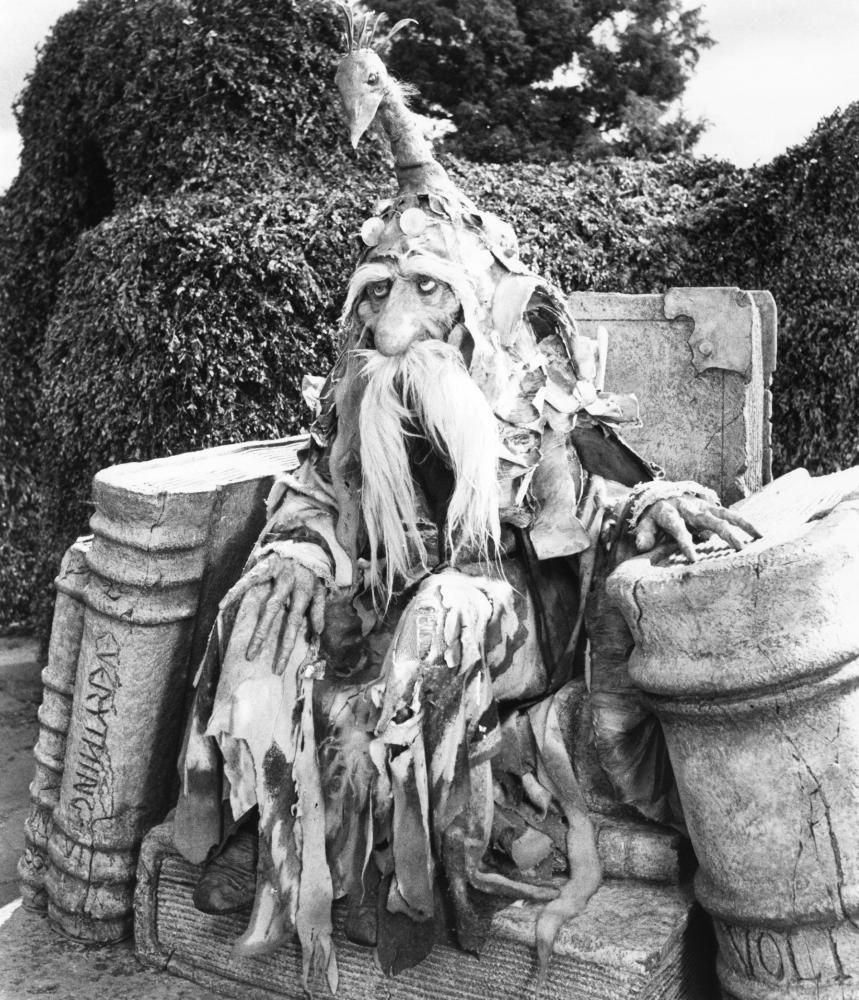 LABYRINTH, wiseman, 1986, (c)TriStar Pictures