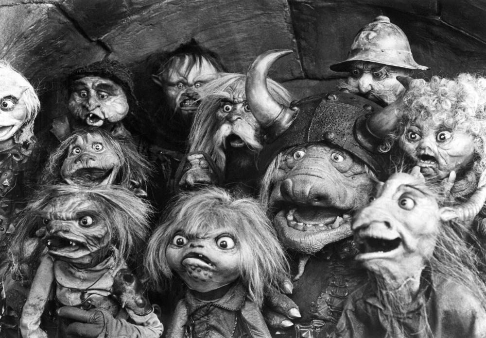 LABYRINTH, goblins, 1986, (c)TriStar Pictures