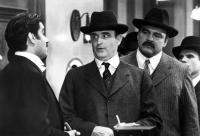 JOHNNY DANGEROUSLY, Richard Dimitri, Peter Boyle, Dick Butkus, 1984, TM and Copyright (c)20th Century Fox Film Corp. All rights reserved.