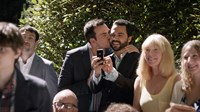 LOVE IS STRANGE, from left: Cheyenne Jackson, Manny Perez, 2014./©Sony Pictures Classics