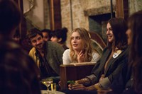 MISTRESS AMERICA, from left: Greta Gerwig, Lola Kirke, 2015. ph: David Feeney-Mosier/TM and copyright ©Fox Searchlight Pictures. All rights reserved.