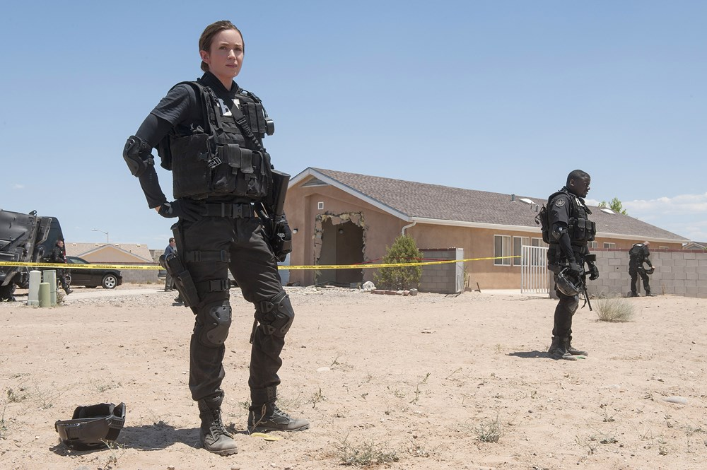 SICARIO, from left: Emily Blunt, Daniel Kaluuya, 2015. ph: Richard Foreman Jr./©Lionsgate