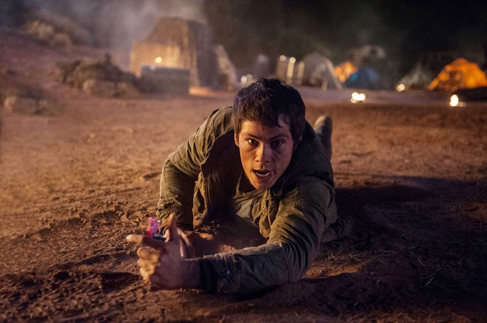 MAZE RUNNER: THE SCORCH TRIALS, Dylan O'Brien, 2015. ph: Richard Foreman Jr./TM and Copyright ©20th Century Fox Film Corp. All rights reserved.