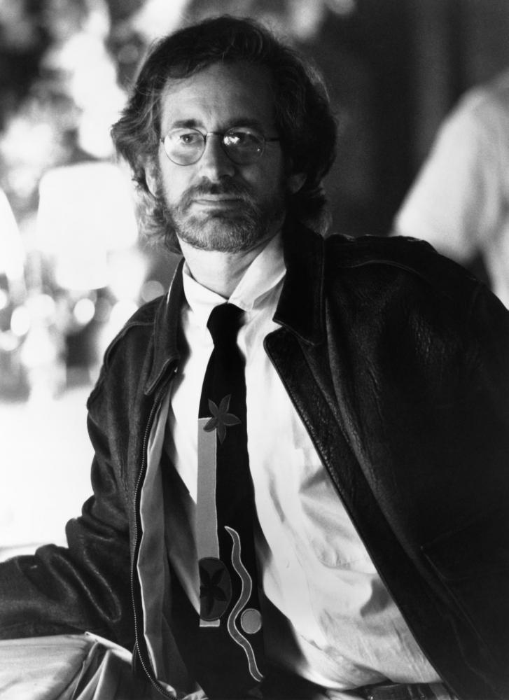 HOOK, director Steven Spielberg, on-set, 1991, (c) TriStar Pictures.